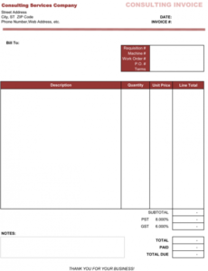 3 consulting invoice templates to make quick invoices consultant billing invoice template