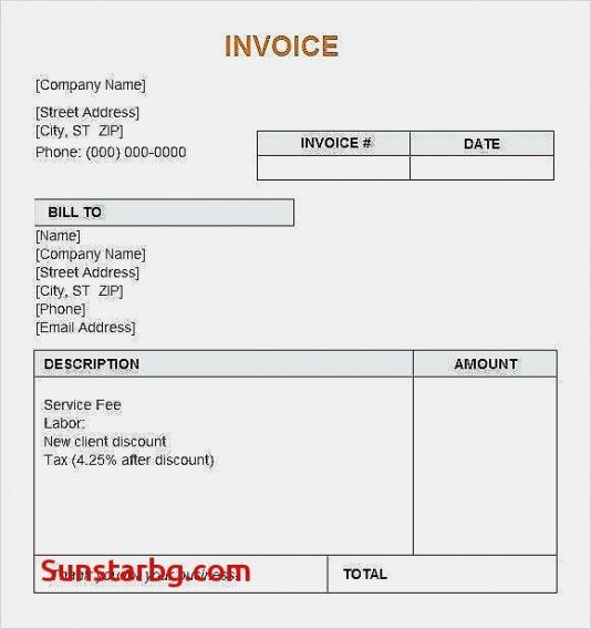50 Best Of Free Invoice Template Excel For Discount Teacher Supply