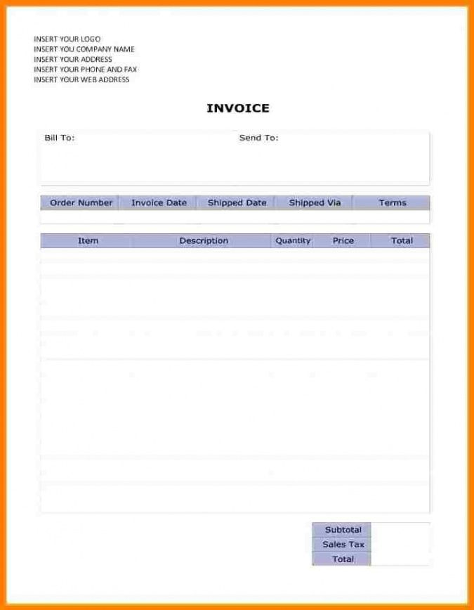 6 editable invoice template word thistulsa dance teacher invoice