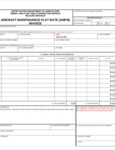 9+ maintenance invoice template - free sample, example format aircraft maintenance invoice template