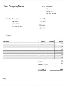 bakery invoice templates - 14+ free word, excel, pdf format download bakery invoice template