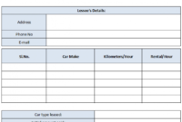 Car Rental Invoice Template Free Enterprise Car Rental Invoice Car Rental Billing Invoice Template