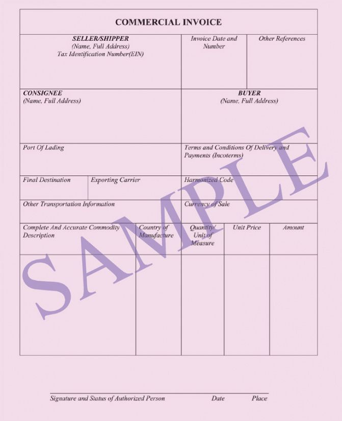 Commercial Invoice Documents Ocean Freight Air Freight Invoice - Freight invoice template