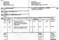 Commercial Invoice For Fedex   Invoice Template Doc Free Air Freight Invoice Template