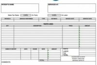 Free Dental Invoice Template | Excel | Pdf | Word (.doc) Dental Billing Invoice Template