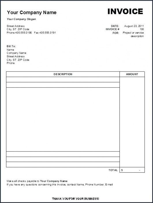 therapy invoice template  Massage Therapist Invoice Template