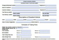 Free Tow Service Invoice Template | Excel | Pdf | Word (.doc) Tow Truck Service Invoice Template