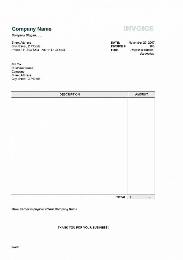 Invoice Template New Zealand New Simple Invoice Template For Mac - Simple invoice template for mac