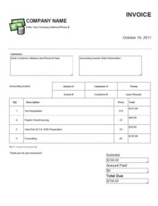 invoice templates accounting service accounting invoice template security guard services invoice template