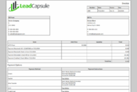Invoicing | Features | Lead Capsule Bank Transfer Invoice Template