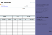 Medical Invoice Template (1) Hospital Billing Invoice Template