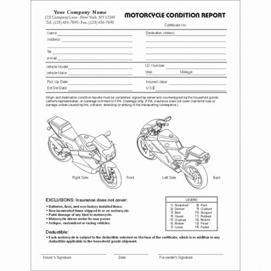 motorcycle invoice template images awesome motorcycle templates motorcycle repair invoice templates