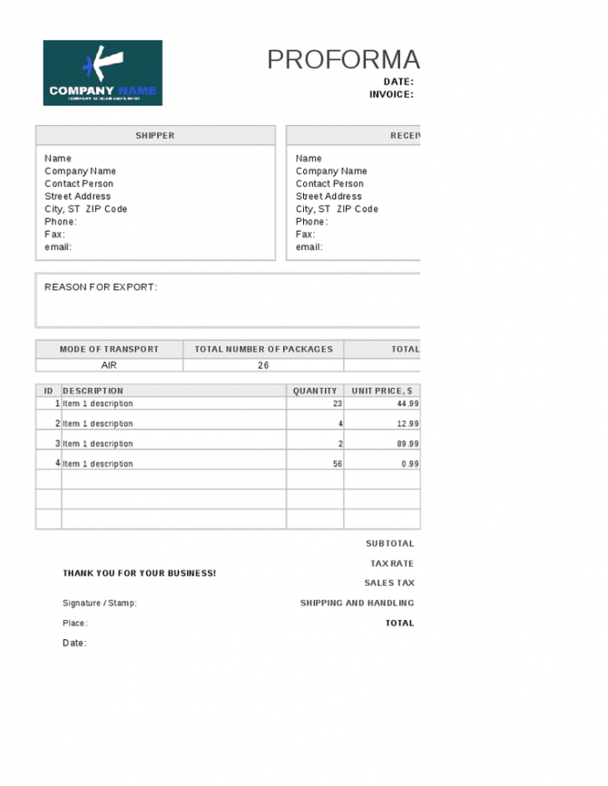 moving invoice template | invoice | pinterest | invoice template moving service invoice template