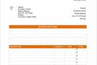 Photographer Invoice Template – Dtk Templates Photography Billing Invoice Template