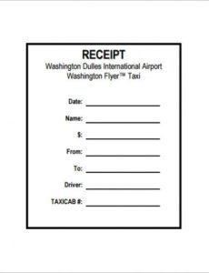 taxi receipt template - 20+ free word, excel, pdf format download taxi service invoice template