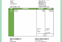 Travel Invoice Template | Free Invoice Templates Airline Ticket Invoice Template