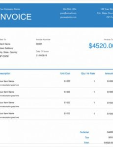 4+ electrical invoice templates - free sample, example format electrical work invoice template