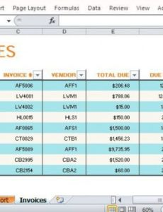 accounts payable invoice tracking excel - incep.imagine-ex.co accounts payable invoice template