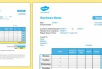 Childminder Invoice Shorter Version Template Spreadsheet – Child Childminder Invoice Template