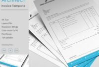 Design Architect Invoice Template | Free & Premium Templates Architect Invoice Template