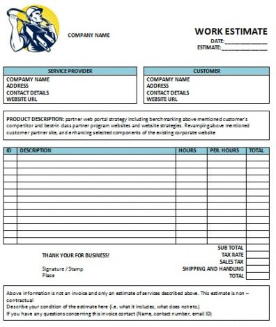 electrical contractor invoice template  Electrical Contractor Invoice Template 13 Free Electrical Invoice ...