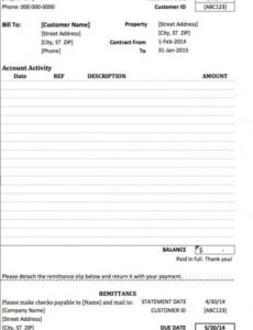 free monthly rent (to landlord) receipt template | excel | pdf monthly rent invoice template