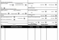 Free Ups Commercial Invoice Template | Excel | Pdf | Word (.doc Fillable Commercial Invoice Template