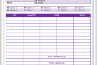 Professional Carpet Cleaning Invoice Templates – Impress Your Carpet Cleaning Invoice Template