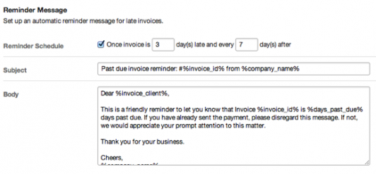 Sample Payment Reminder Letter Invoice Reminder Template Reminder - Email for invoice payment