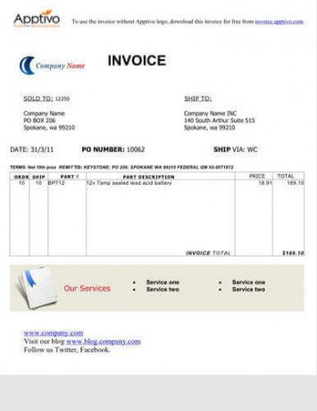 sample sales invoice - onwe.bioinnovate.co cash sales invoice template