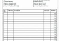 Trade Invoice How Free Motor Trade Invoice Software – Winagiveaway.club Motor Trade Invoice Template