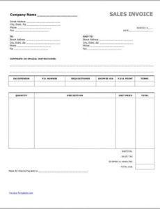 6+ cash invoice samples | sample templates cash sale invoice template