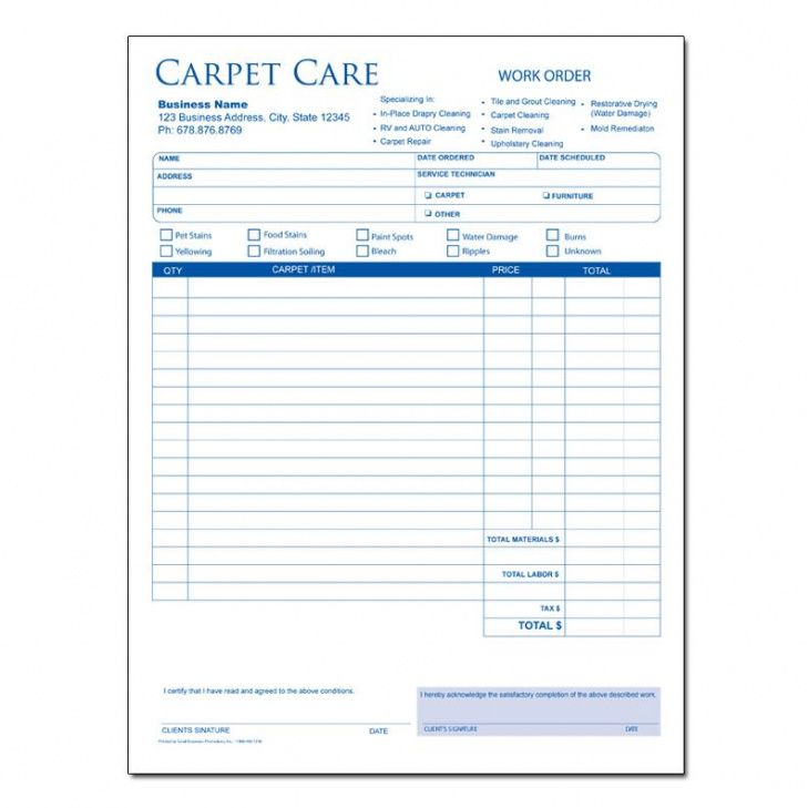 carpet cleaning invoices carpet cleaning invoice forms custom upholstery invoice template