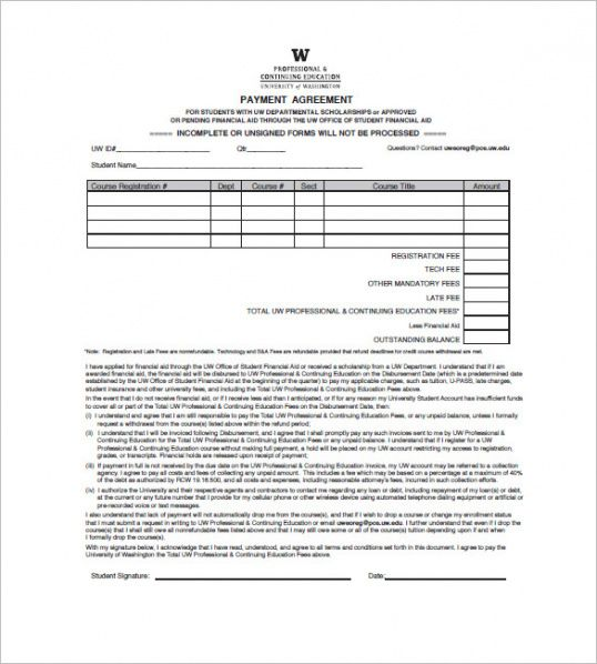 Education Invoice Templates Free Word Excel Pdf Format - University invoice template