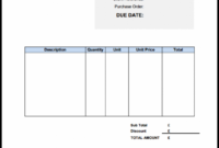 Free Invoice Template Uk: Use Online Or Download Excel & Word Non Vat Invoice Template