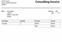 Free Invoice Templates | Online Invoices German Invoice Template
