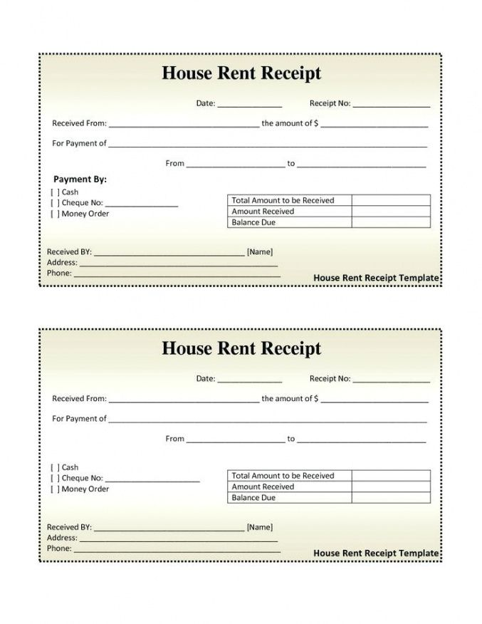 Guest House Bill Format Book Bill Receipt Format House Rent Bill Guest House  Invoice Template