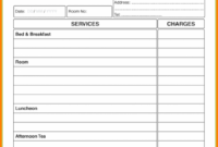 Hotel Bill Formet – Black.dgfitness.co Guest House Invoice Template
