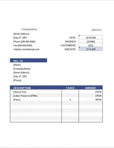 hotel invoice template – 8+ free sample, example, format download guest house invoice template