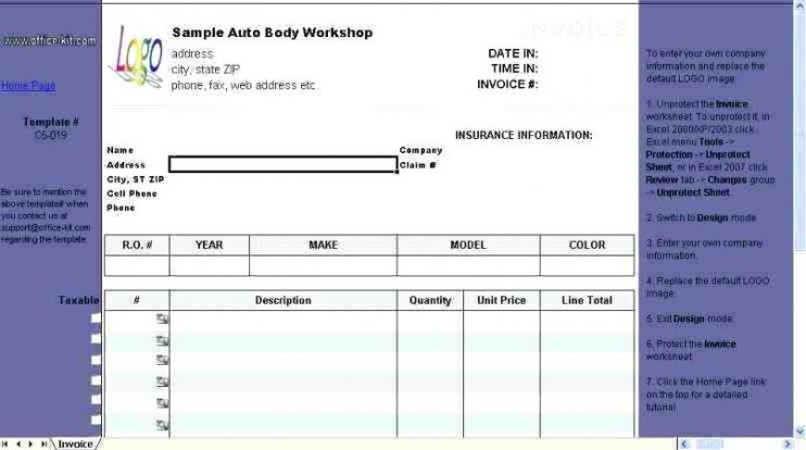 insurance invoice template  How To Submit An Invoice Pet Insurance Insurance Claim Invoice ...