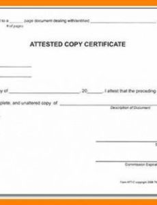 attested signature.notary block template attested certified true notary signature block template