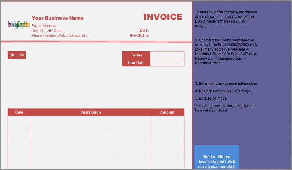 √ 44 best of notary invoice sample | free template designs notary invoice template free
