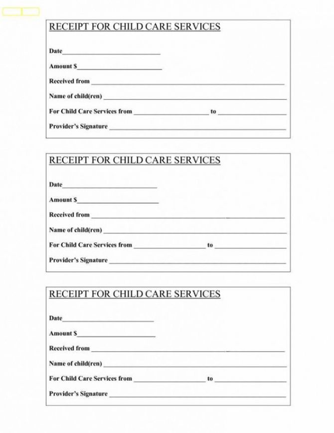 nanny invoice template free printable receipt templates cash nanny