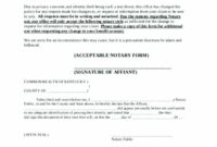 New Jersey Notary Stamp Notary Signature Template General Notary Notary Acknowledgement Template