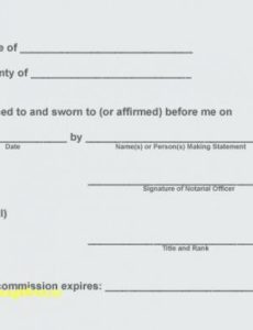 notarized letter template florida notary public template notary notary public document template