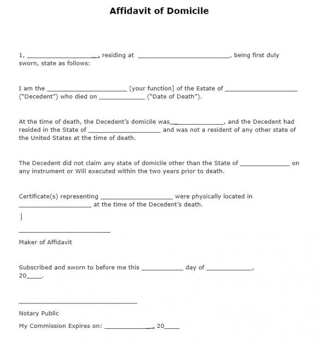 notary letter templates sample statements promissory note notarized notary affidavit template