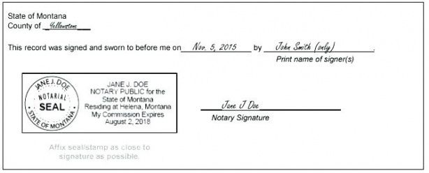 notary signature block template notary stamp template notary public notary seal template
