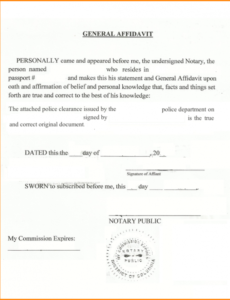 pin by maria sekar on notary docs | pinterest | letter sample notary affidavit template