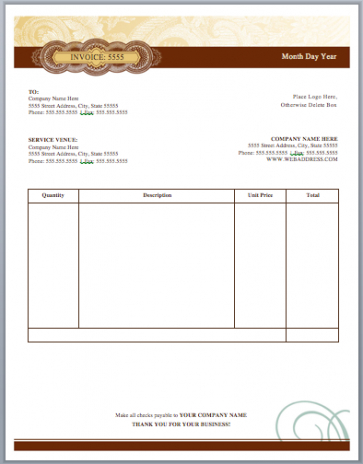 artist invoice template | free invoice templates music production invoice template