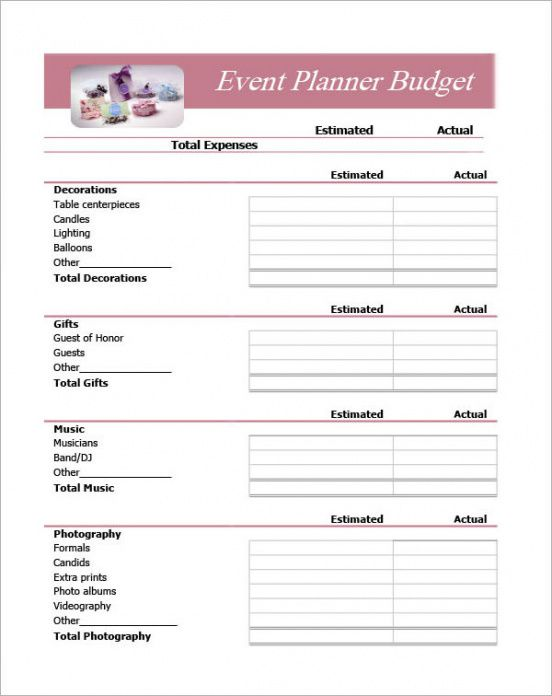10+ sample event planning templates - pdf, ppt, doc event planner invoice template